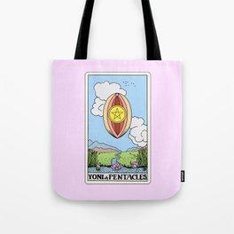 Yoni of Pentacles Tote Bag
