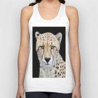 cheetah Tank Tops featuring Cheetah by Lynn Bolt