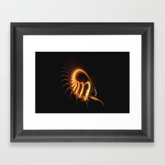 Creepy Crawly Framed Art Print