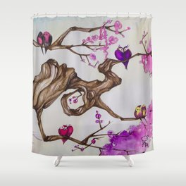 Love Nest Shower Curtain