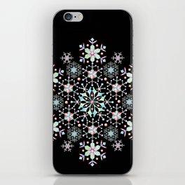 Snowflake Mandala iPhone Skin