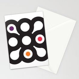 Circles 3x3 #1 Stationery Cards