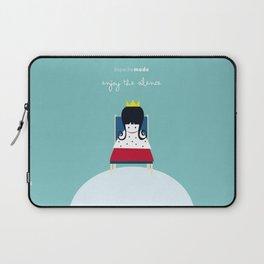 Enjoy the silence  Laptop Sleeve