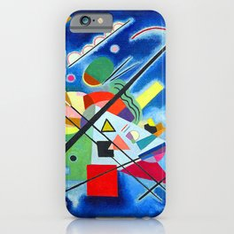 Wassily Kandinsky Blue iPhone Case