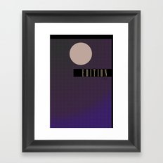 Edition Framed Art Print