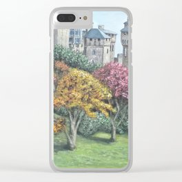 Cardiff Castle Clear iPhone Case