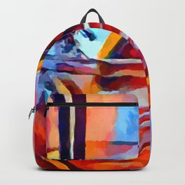 Cocktail 2 Watercolor Backpack
