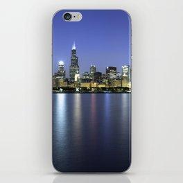 Chicago Skyline Dusk Panorama iPhone Skin