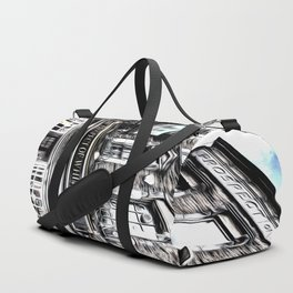 The Prospect Of Whitby Pub Art Duffle Bag