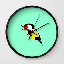 Goldfinch Wall Clock