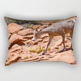 Desert Bighorn Sheep II - Zion Rectangular Pillow