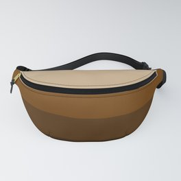 Coffee Liqueur and Cream Mix - Abstract Fanny Pack