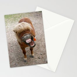 Why the long face? Stationery Cards
