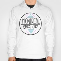 montreal Hoodies featuring Montreal by Aurelie