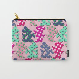 Mickey and Minnie pattern Carry-All Pouch