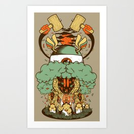 A Cautionary Tale Art Print