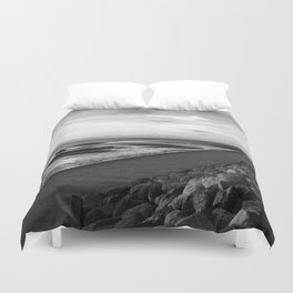 Cool Day in Cape Cod Duvet Cover