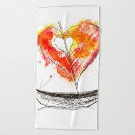 love boat Beach Towel