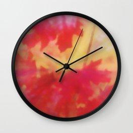 Impressionistic Autumn Wall Clock