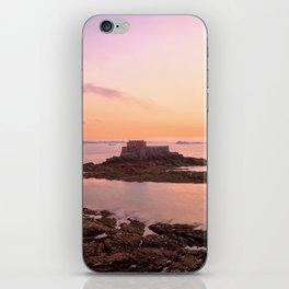 Saint-Malo Twilight Coast iPhone Skin