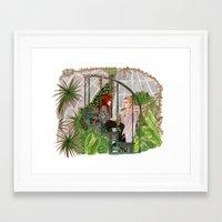 the mortal instruments Framed Art Prints featuring The Mortal Instruments by Naineuh