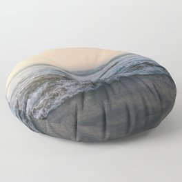 Sunrise Ocean Floor Pillow