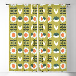 Set Sun Olive Blackout Curtain