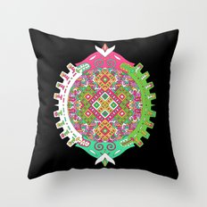 Dimensional Tunnel Throw Pillow