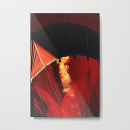 """ABQ Dragon Breath"" Metal Print"