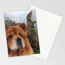 Dog Chow Chow Stationery Cards