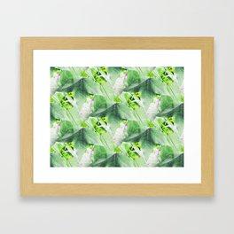A Delicate Sweetgum Leaf - IA Framed Art Print
