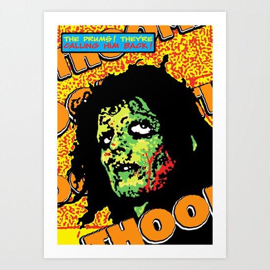 Voodoo Drums Art Print