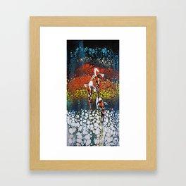 Triple Treat Framed Art Print