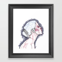 To Appear To Disappear Framed Art Print