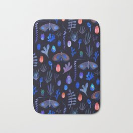 Jungle Moths - Night Bath Mat