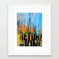 return Framed Art Prints featuring Return by silvsstang