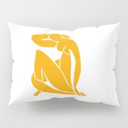 Matisse in Gold Pillow Sham