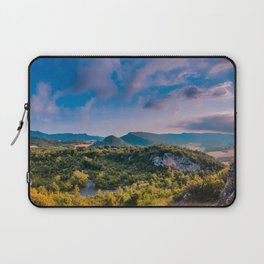 on the top of the mountain Laptop Sleeve