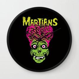 Martians Wall Clock