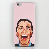 american psycho iPhone & iPod Skins featuring American Psycho by LookingForNikky