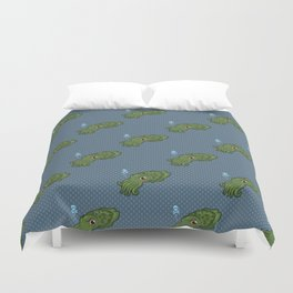 Cuttlefish - Cthulu Edition Duvet Cover