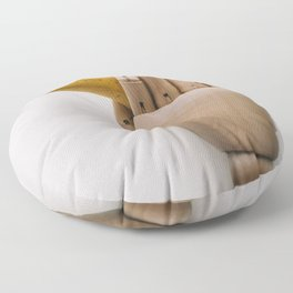 Banana hand Floor Pillow