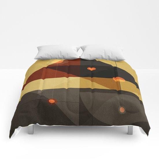 Geometric/Abstract 6 Comforters