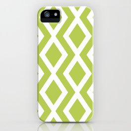 Lime Diamond iPhone Case