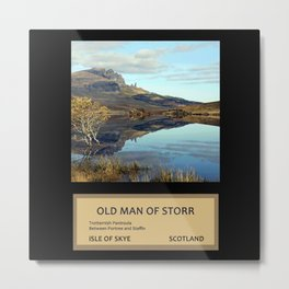Travelling in Scotland No. 2 Metal Print