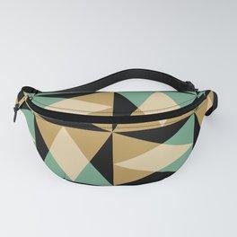 Mid Century Modern Geometric Pattern 552 Fanny Pack