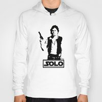 han solo Hoodies featuring Han Solo by Mister Munny