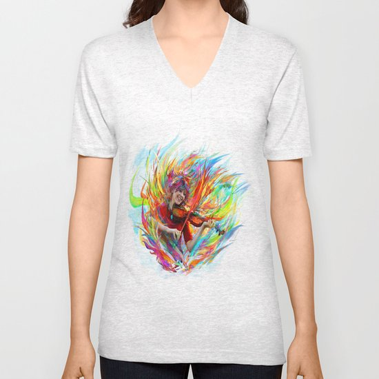 Lindsey Stirling Unisex V-Neck