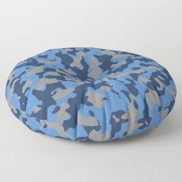 Camouflage Marina Floor Pillow