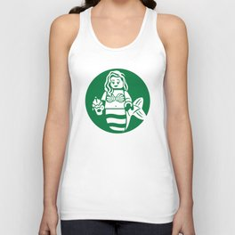 Minifigure Mermaid Unisex Tank Top